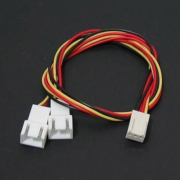 디바이스마트,컴퓨터/모바일/가전 > 컴퓨터 부품 > 쿨러/튜닝용품 > 튜닝용품,,FC-3P-3P-Y Exchange (3P 두개로 변환 케이블),3핀 / 3핀을 두개로 변환