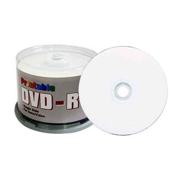 DVD-R, 와이드프린터블, 16배속, 4.7GB [케익통/50매]