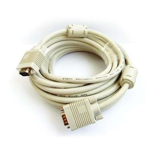 디바이스마트,컴퓨터/모바일/가전 > 네트워크/케이블/컨버터 > 영상 관련 케이블 > D-Sub(RGB) 케이블,,마하링크 RGB(VGA) 모니터 케이블 [베이지/5M] [ML-RGB050],D-SUB (3+6) 케이블 / 케이블 길이 5M / 노이즈필터