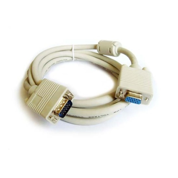 디바이스마트,컴퓨터/모바일/가전 > 네트워크/케이블/컨버터 > 영상 관련 케이블 > D-Sub(RGB) 케이블,,마하링크 RGB(VGA) 모니터 연장 케이블 [베이지/2M] [ML-RGE020],D-SUB 연장(M/F) 케이블 / 케이블 길이 2M / 노이즈필터