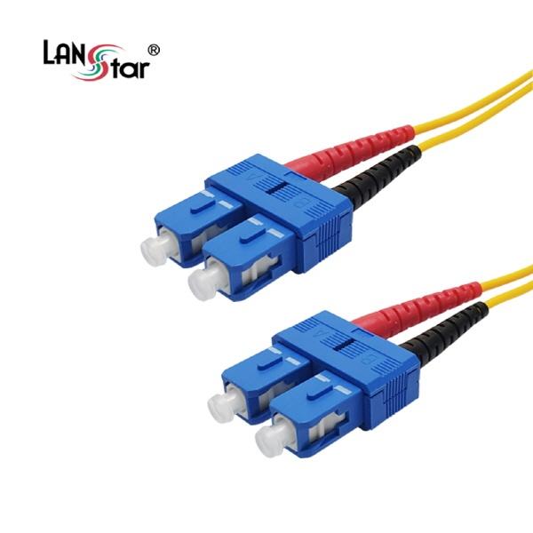 디바이스마트,컴퓨터/모바일/가전 > 네트워크/케이블/컨버터 > 광네트워크 > 광 점퍼코드,,랜스타 SC-SC-2C, 싱글 광점퍼코드 3M [LS-FSD-SCSC-3M],