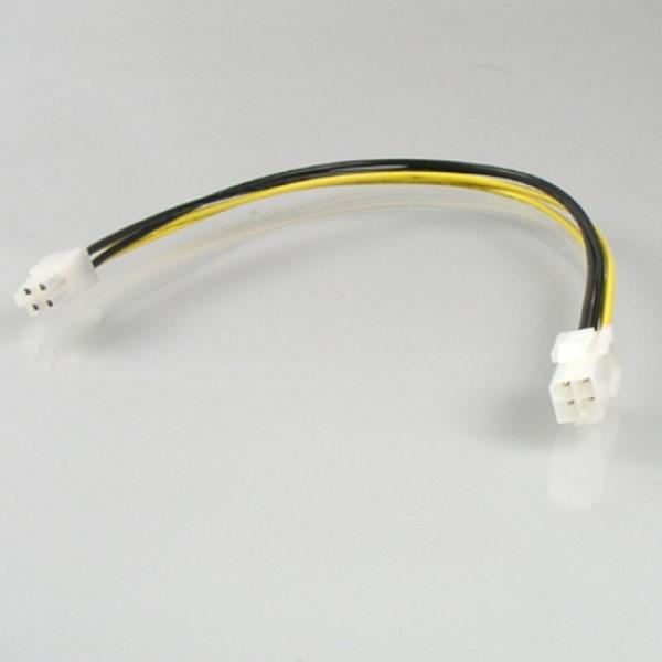 디바이스마트,컴퓨터/모바일/가전 > 네트워크/케이블/컨버터 > 리피터/전원/젠더/변환케이블 > 파워/기타 전원 케이블,,엠비에프 메인보드용 4핀 전원 연장케이블 0.3M,PX EXT 케이블 / 30CM / 메인보드 4P 연장 케이블