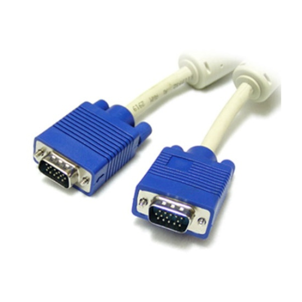 디바이스마트,컴퓨터/모바일/가전 > 네트워크/케이블/컨버터 > 영상 관련 케이블 > D-Sub(RGB) 케이블,,케이블메이트 RGB(VGA) 고급형 모니터 케이블 [베이지/20M],D-SUB (3+4) 케이블 / 케이블 길이 20M / 노이즈필터