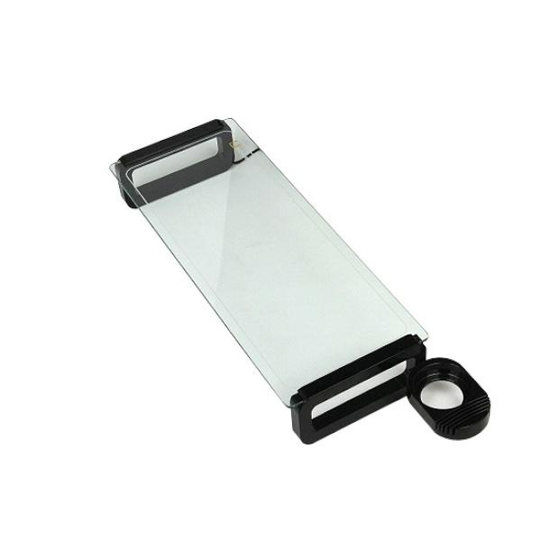 디바이스마트,컴퓨터/모바일/가전 > 모니터/모니터주변기기 > 보안기/받침대 > 모니터받침대,,모니터받침대, U-BOARD Smart [블랙] [유리색상:투명],크기:555X210mm / 높이:80mm / 재질:강화유리(5mm) / 1단 선반 / DIY(조립형) / 미끄럼방지패드 / 스마트폰거치대 / 컵홀더 / 3포트 USB허브 (USB2.0)