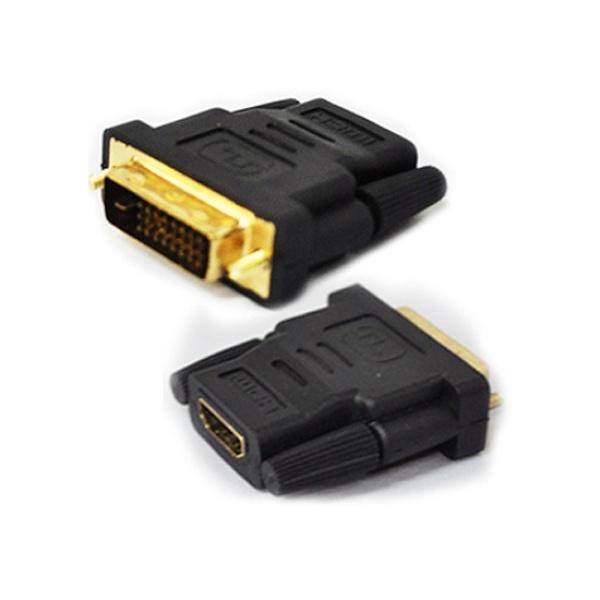 엠비에프 HDMI(F) to DVI(M) 변환젠더 [블랙]