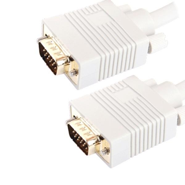 디바이스마트,컴퓨터/모바일/가전 > 네트워크/케이블/컨버터 > 영상 관련 케이블 > D-Sub(RGB) 케이블,,마하링크 RGB(VGA) 최고급형 모니터 케이블 [베이지/50M] [ML-RGBH500],D-SUB (3+6) 케이블 / 케이블 길이 50M / 노이즈필터 / UL 2990인증