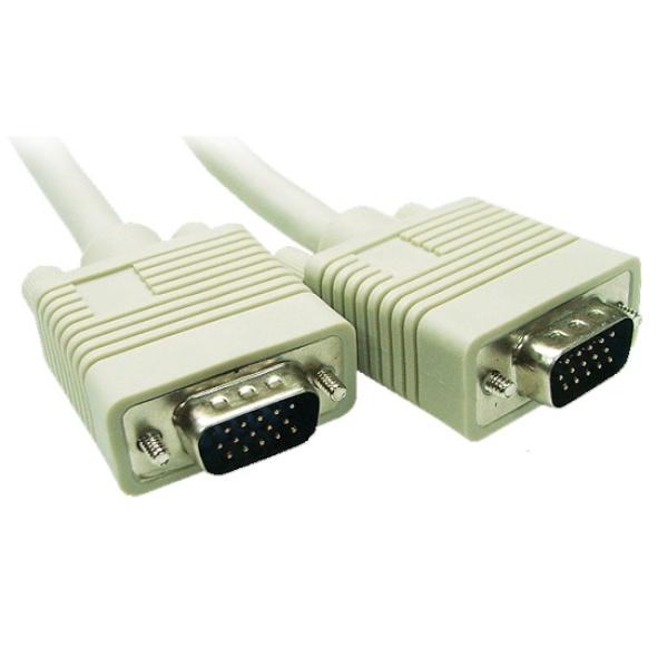 디바이스마트,컴퓨터/모바일/가전 > 네트워크/케이블/컨버터 > 영상 관련 케이블 > D-Sub(RGB) 케이블,,마하링크 RGB(VGA) 모니터 케이블 [베이지/20M] [ML-RGB200],D-SUB (3+6) 케이블 / 케이블 길이 20M / 노이즈필터