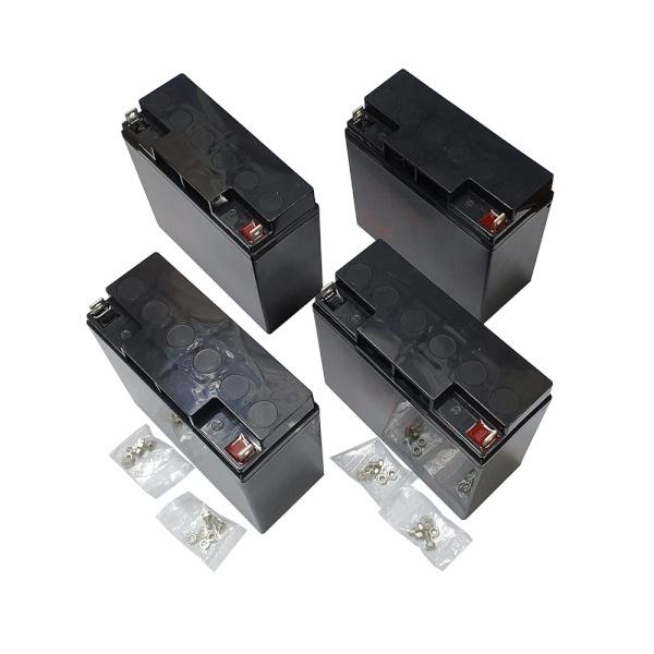 디바이스마트,컴퓨터/모바일/가전 > 네트워크/케이블/컨버터 > UPS/랙케비넷 > UPS/악세서리,,APC UPS OEM 교체 배터리 [RBC55] [배터리4개 발송],▶ OEM 베터리 경우 카트리지와 커넥터를 제외한 배터리만 발송 됩니다 / 기존 카트리지와 커넥터 재활용해주세요 ◀ / / 호환 가능모델 : SUA2200I , SUA3000I , SUA5000RMI5U , SMT2200I , SMT3000I