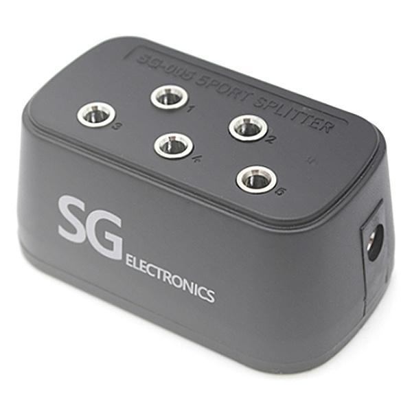 디바이스마트,컴퓨터/모바일/가전 > 네트워크/케이블/컨버터 > KVM스위치/분배기/선택기 > 기타 선택기/분배기,,STech 3.5mm 스테레오 5구 소켓 [SG-005],스테레오 5구 소켓