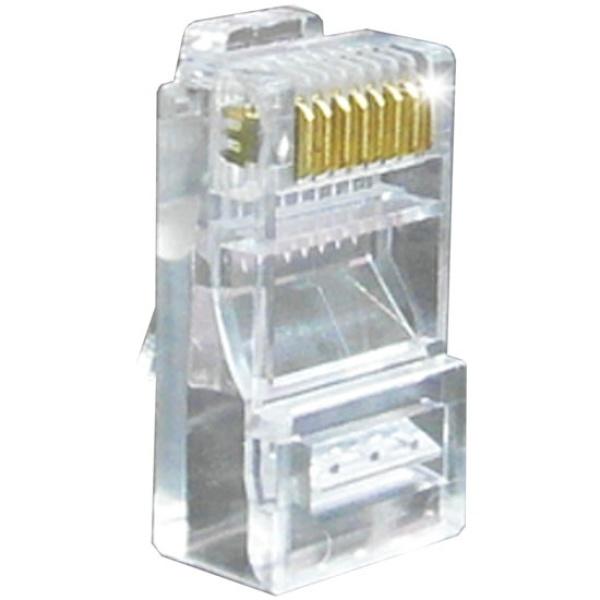 인네트워크 RJ-45 커넥터, CAT.5 UTP [투명/100개]