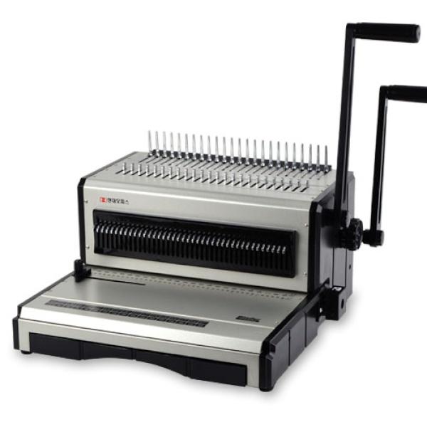 디바이스마트,컴퓨터/모바일/가전 > 가구/사무용품/공구 > 사무기기 > 제본기,,플라스틱+와이어링 겸용 제본기 ST-4500RW,겸용제본기/수동식/제본폭29.7cm(A4)/링제본500매,와이어제본120매/천공25매/천공핀수조절/천공깊이조절 / 플라스틱링 / 와이어링