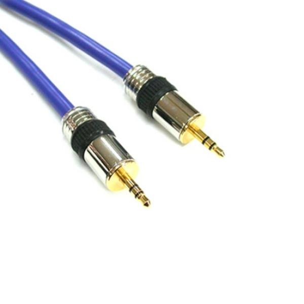 디바이스마트,컴퓨터/모바일/가전 > 네트워크/케이블/컨버터 > 음성 관련 케이블 > 스테레오/ST - RCA 케이블,,NETmate 스테레오(3.5) 고급 케이블 10M [NMA-ST100S],스테레오/일반 스테레오/10M