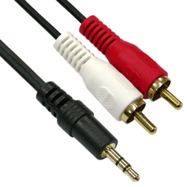 디바이스마트,컴퓨터/모바일/가전 > 네트워크/케이블/컨버터 > 음성 관련 케이블 > 스테레오/ST - RCA 케이블,,NETmate 스테레오(3.5) to RCA 2선 케이블 3M [NMA-SR300N],3.5M(ST)-2RCA(M)/3m