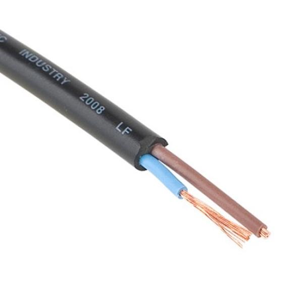 디바이스마트,컴퓨터/모바일/가전 > 네트워크/케이블/컨버터 > 리피터/전원/젠더/변환케이블 > 파워/기타 전원 케이블,,DYC 비닐 절연케이블 VCTF-0.75㎟ x 3C, 블랙 [100M/1롤] [0753C],옥내 AC 300/500V 이하 전자, 음향기기, 조명기기 등 소형전기 기구에 사용 /  최고허용 온도 : 70℃