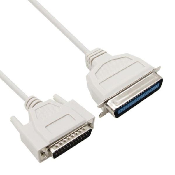 NETmate DB25핀 to CN36핀 (M/M) 프린터 케이블 5M [NMC-PT50G]||