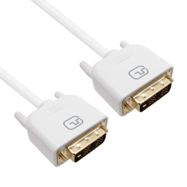 디바이스마트,컴퓨터/모바일/가전 > 네트워크/케이블/컨버터 > 영상 관련 케이블 > DVI 케이블,,PROLINK DVI-D 싱글 케이블 5M [PMM365-0500],케이블 길이 5M / OFC 무산소동선 / 금도금 커넥터