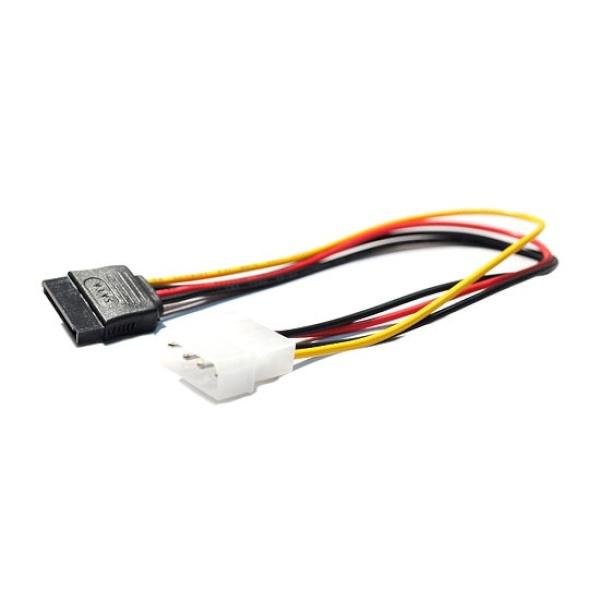 디바이스마트,컴퓨터/모바일/가전 > 네트워크/케이블/컨버터 > 리피터/전원/젠더/변환케이블 > 파워/기타 전원 케이블,,엠비에프 IDE 전원 4핀 to SATA 전원 케이블 [0.3M],IDE to SATA 전원 변환 케이블 / 30CM