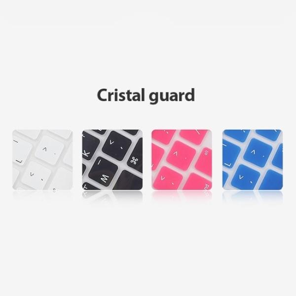 MacBook Air 크리스탈가드 키스킨 13인치 [색상선택]화이트