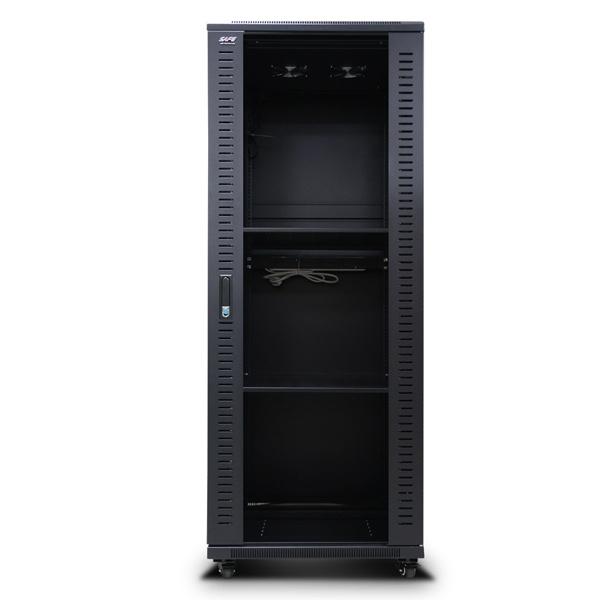 디바이스마트,컴퓨터/모바일/가전 > 네트워크/케이블/컨버터 > UPS/랙케비넷 > 서버랙/허브랙/악세서리,,HPS 허브랙 [HPS 시리즈] 블랙  블랙 [HPS-1600H] [32U],사이즈 1600x750x600 / 슬림너트 타입 / 선반 2개 / 냉각팬 2개(120mm) / 국산 6구 멀티탭 1개 포함 / 바퀴 4개