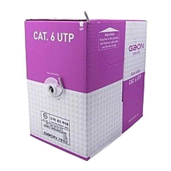 CAT.6 UTP 랜 케이블 300M [1롤/박스] 블루
