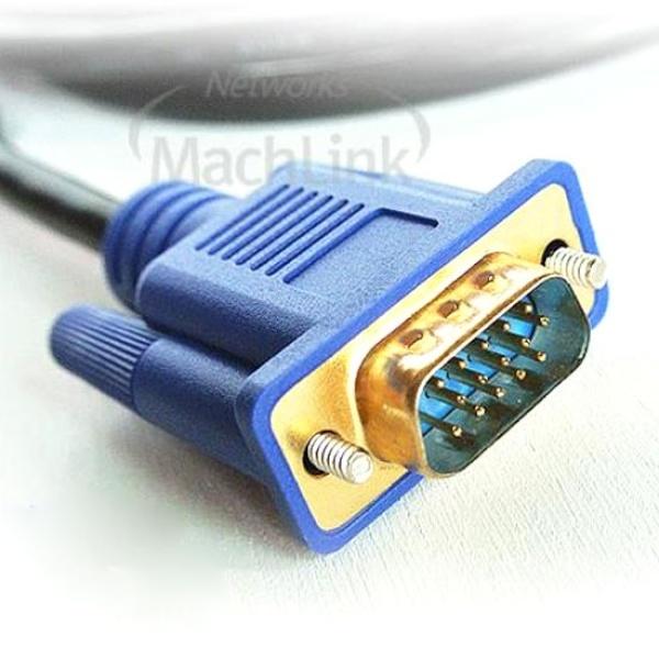 디바이스마트,컴퓨터/모바일/가전 > 네트워크/케이블/컨버터 > 영상 관련 케이블 > D-Sub(RGB) 케이블,,마하링크 RGB(VGA) 세미 모니터 케이블 [블랙/10M] [ML-RGBS100],D-SUB 케이블 / 케이블 길이 10M / 노이즈필터 / UL AWM 2919인증
