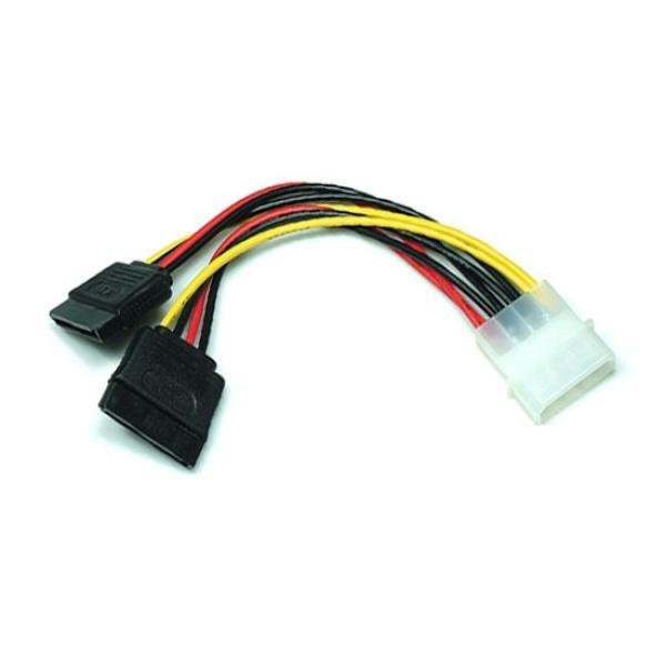 디바이스마트,컴퓨터/모바일/가전 > 네트워크/케이블/컨버터 > 리피터/전원/젠더/변환케이블 > 파워/기타 전원 케이블,,케이블메이트 IDE to SATA 전원 Y형 케이블 0.15M [CE352],SATA to IDE 전원케이블 / Y형 2구 확장 케이블 / 15CM