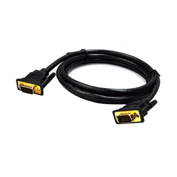 디바이스마트,컴퓨터/모바일/가전 > 네트워크/케이블/컨버터 > 영상 관련 케이블 > D-Sub(RGB) 케이블,,JUSTLINK RGB(VGA) 모니터 케이블 [블랙/10M],모니터케이블 / 4096 x 2160 해상도 지원 / 케이블 10M