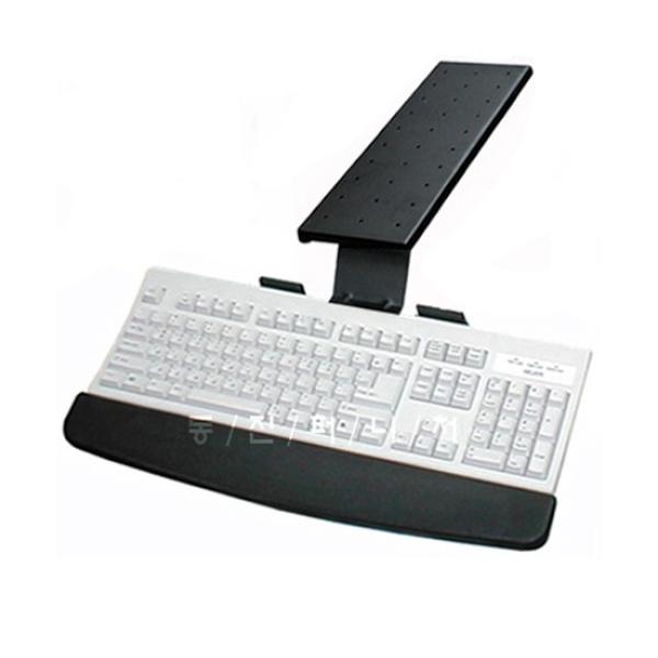 디바이스마트,컴퓨터/모바일/가전 > 가구/사무용품/공구 > 가구/데코 > 수납가구,,IN-606-1 키보드받침대 (회전일반형),키보드트레이/전후슬라이딩/360도좌우회전기능/우레탄손목받침