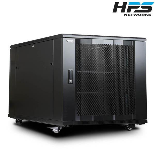 디바이스마트,컴퓨터/모바일/가전 > 네트워크/케이블/컨버터 > UPS/랙케비넷 > 서버랙/허브랙/악세서리,,HPS 서버랙 [HPS 시리즈] 블랙 [HPS-590S] [12U],
