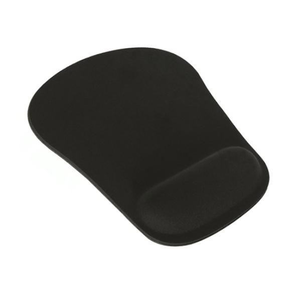 손목보호 마우스패드, MMP-006 메모리폼 [블랙]