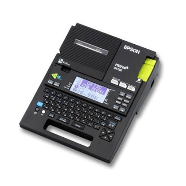 디바이스마트,컴퓨터/모바일/가전 > 프린터/복합기/사무기기 > 라벨/영수증/3D/도트 > 라벨프린터/도트,,PRIFIA OK-730 라벨프린터,라벨프린터 / 용도: 가정용 / 인쇄해상도: 300dpi / 용지폭: 4~24mm / 네트워크: 유선 / 인터페이스: USB / 최대인쇄행수: 8행 / 열전사방식 / 부가기능: 자동컷팅, PC연결, 한글지원, 인쇄 미리보기, QR코드인쇄, 연번인쇄, 연속인쇄 / 크기: 180 x 235 x 80mm / 무게: 800g
