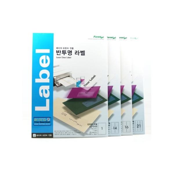 디바이스마트,컴퓨터/모바일/가전 > 잉크/토너/용지/공미디어 > 사무/복사용지 > 폼/롤 라벨지,,주소용 라벨지, 반투명, LC-3108 [14칸/10매] [사이즈:99.1X38.1],라벨용지 / 주소용 / 용지규격: A4 / 라벨칸수: 14칸 / 반투명 / 레이저 전용 / 크기:99.1 x 38.1mm