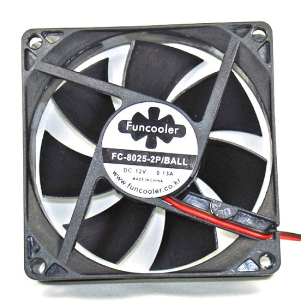 디바이스마트,컴퓨터/모바일/가전 > 컴퓨터 부품 > 쿨러/튜닝용품 > 케이스 쿨러,,FC-8025-2P/BALL [시스템쿨러/80mm],케이스 쿨러 / CASE-80mm / CASE-25mm / 볼 / 2핀 / 80mm / 25mm / ball bearing