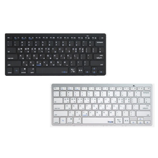 디바이스마트,컴퓨터/모바일/가전 > 컴퓨터 부품 > 키보드/마우스/마우스패드 > 키보드 주변기기,,블루투스 미니키보드, 아이노트 X-Key 28BT [블랙],블루투스3.0 / 펜타그래프 / AAA건전지 교체형 (배터리포함) / 멀티미디어 / 아이솔레이션
