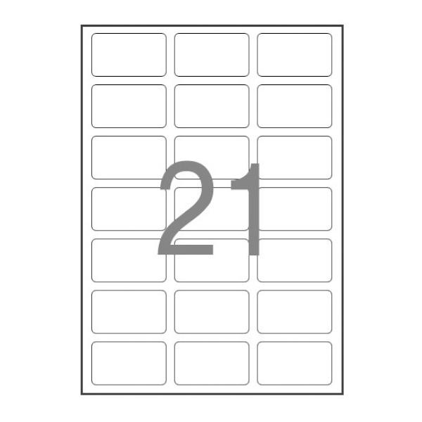 디바이스마트,컴퓨터/모바일/가전 > 잉크/토너/용지/공미디어 > 사무/복사용지 > 폼/롤 라벨지,,주소용 라벨지, 일반형 [21칸(3X7)/100매] [사이즈:63.5X38.1],폼 라벨지 / 주소용 라벨 / 21-40칸 / 레이저-잉크젯 겸용