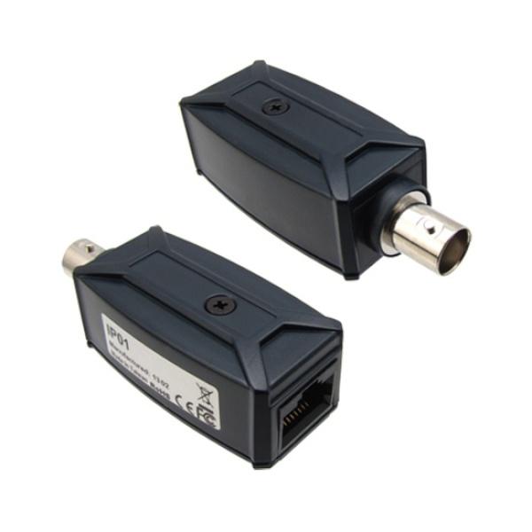 신호송수신기, IP 장거리 전송장치, BNC (무전원), M-IP01