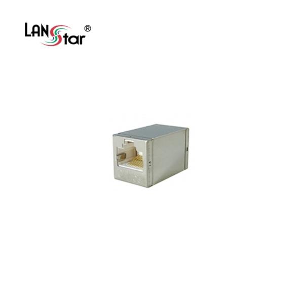 랜스타 RJ-45 (8P8C) I형 커플러, CAT.5E FTP, LS-EIC-FJM [메탈/1개]