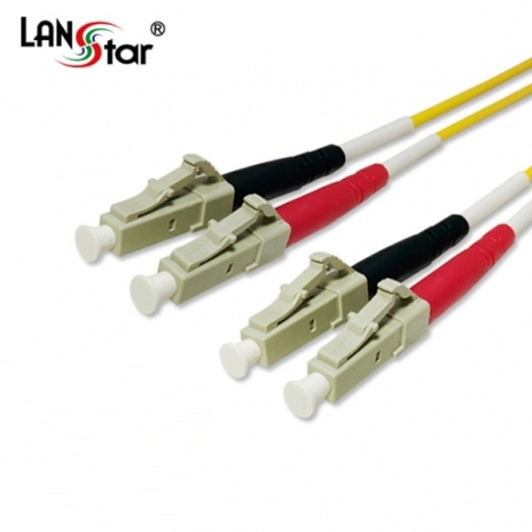 디바이스마트,컴퓨터/모바일/가전 > 네트워크/케이블/컨버터 > 광네트워크 > 광 점퍼코드,,랜스타 LC-LC-2C, 싱글 광점퍼코드 20M [LS-FSD-LCLC-20M],