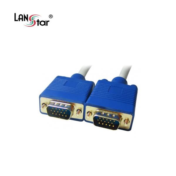 디바이스마트,컴퓨터/모바일/가전 > 네트워크/케이블/컨버터 > 영상 관련 케이블 > D-Sub(RGB) 케이블,,랜스타 RGB(VGA) 보급형 모니터 케이블 30M [LS-RGB-15MM-30M],D-SUB (3+4) 케이블 / 케이블 길이 30M / 노이즈필터