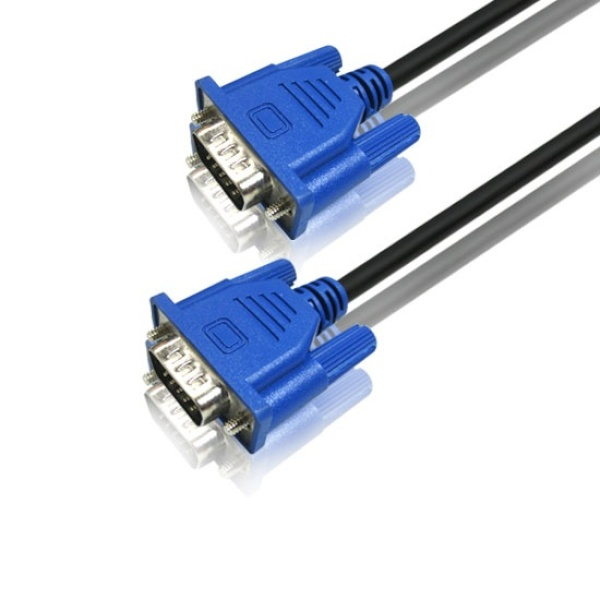 디바이스마트,컴퓨터/모바일/가전 > 네트워크/케이블/컨버터 > 영상 관련 케이블 > D-Sub(RGB) 케이블,,랜스타 RGB(VGA) 모니터 슬림 케이블 [블랙/5M] [LS-SRGB-15MM-5M],D-SUB (3+6) 케이블 / 케이블 길이 5M / 노이즈필터