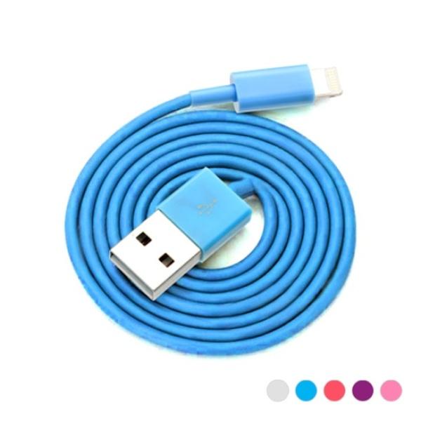 디바이스마트,컴퓨터/모바일/가전 > 스마트폰/스마트기기 > 케이블/젠더 > 애플 전용 케이블,,컬렉션 라이트닝 8핀 To USB 케이블 1M [SMT-010] [색상선택] [핑크],애플 라이트닝 8핀 / 데이터-충전 케이블 / 1M / MFi 미인증