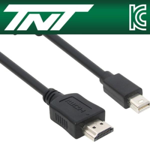 TNT Mini DP 1.1 to HDMI 케이블 3M [NM-TNT80] [블랙]