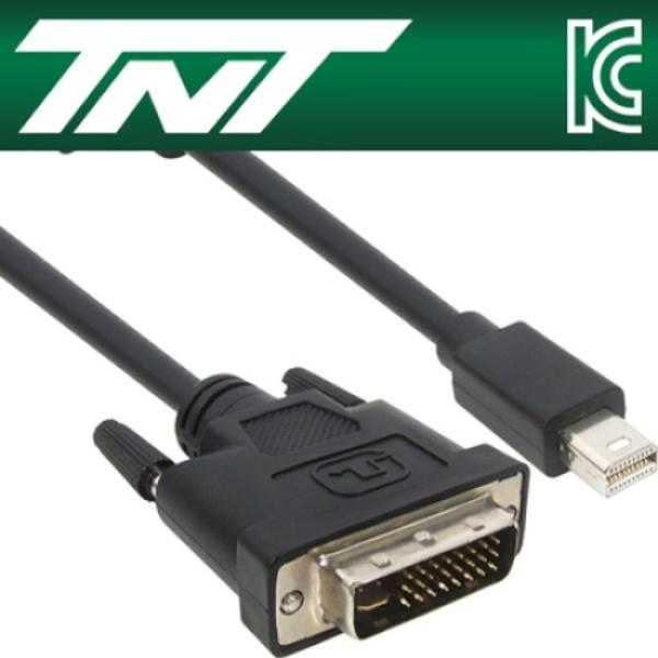 TNT Mini DP 1.1 to DVI 케이블 2M [NM-TNT83] [블랙]