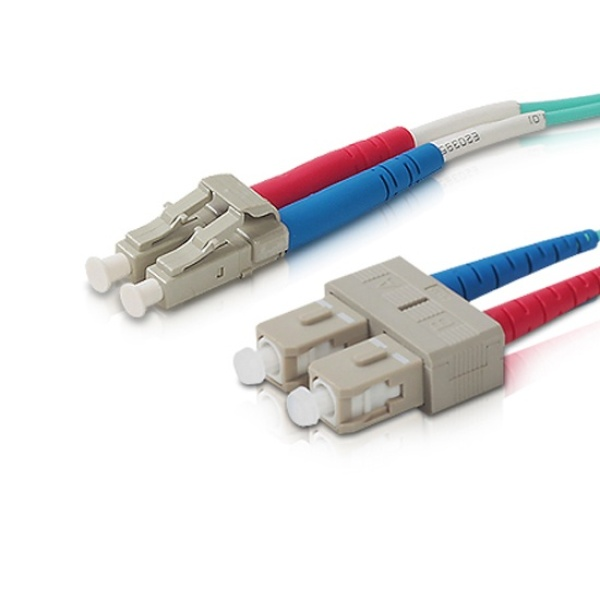 디바이스마트,컴퓨터/모바일/가전 > 네트워크/케이블/컨버터 > 광네트워크 > 광 점퍼코드,,랜스타 LC-SC OM3, 멀티 광점퍼코드 15M [LS-OM3-LCSC-15m],