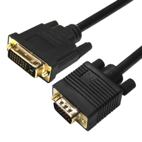 디바이스마트,컴퓨터/모바일/가전 > 네트워크/케이블/컨버터 > 영상 관련 케이블 > DVI 케이블,,인네트워크 DVI-I to RGB(VGA) 케이블 2M [IN-DR020],DVI-I to D-SUB(RGB) / DVI-I 듀얼 (24+5) / 케이블 길이 2M / 최대 1920 x1200 해상도 지원 / 보호캡