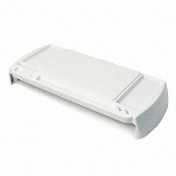 디바이스마트,컴퓨터/모바일/가전 > 모니터/모니터주변기기 > 보안기/받침대 > 모니터받침대,,[(주)위드씨엔에스] 모니터받침대, i-bridge MC-100 [화이트],크기:544X225mm / 높이:74mm / 재질:플라스틱 / 1단 선반 / 수납함 / 명함거치대 / 스마트폰거치대 / 케이블홀더 / 볼펜꽂이