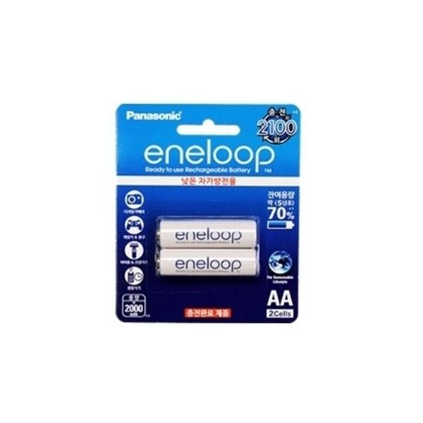 [충전지] Eneloop 에네루프 [2000mAh/AA형/2알]