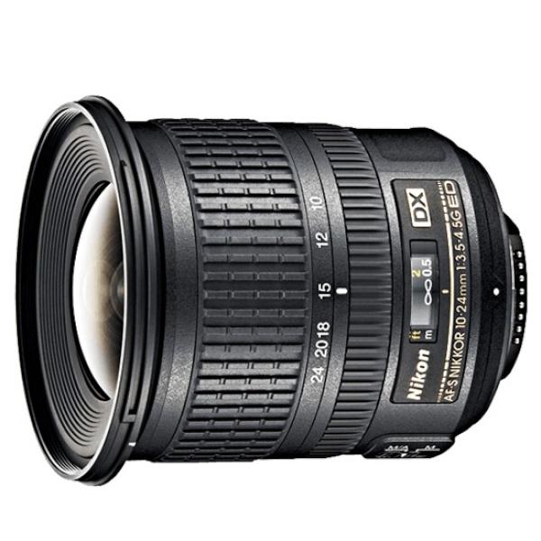 디바이스마트,컴퓨터/모바일/가전 > 카메라/캠코더 > 주변기기 > 렌즈,,AF-S DX NIKKOR 10-24mm F3.5-4.5G ED [니콘코리아정품],크롭바디용 / 니콘 DX 줌렌즈 / 광각줌렌즈 / 초점거리:10~24mm / 화각:109°~61° / 밝기:F3.5~F4.5 / 최단촬영거리:24cm / 저분산 / FTM / 필터구경:77mm / 무게:460g / 풍경용