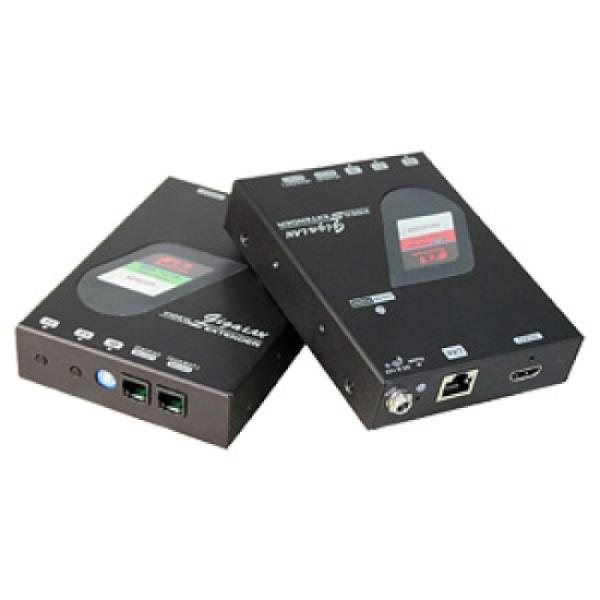 시스라인 HDMI 리피터 송수신기 세트, NVXM-M230LR [최대100M/RJ-45/PoE지원]