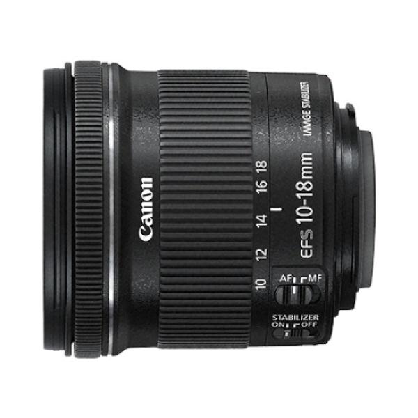 디바이스마트,컴퓨터/모바일/가전 > 카메라/캠코더 > 주변기기 > 렌즈,,EF-S 10-18mm F4.5-5.6 IS STM [캐논코리아정품],크롭바디용 / 캐논(EF-S) / 광각줌렌즈 / 초점거리:10~18mm / 밝기:F4.5~F5.6 / 최단촬영거리:22cm / 손떨림보정 / 스테핑모터 / 필터구경:67mm / 후드미포함 / 무게:240g